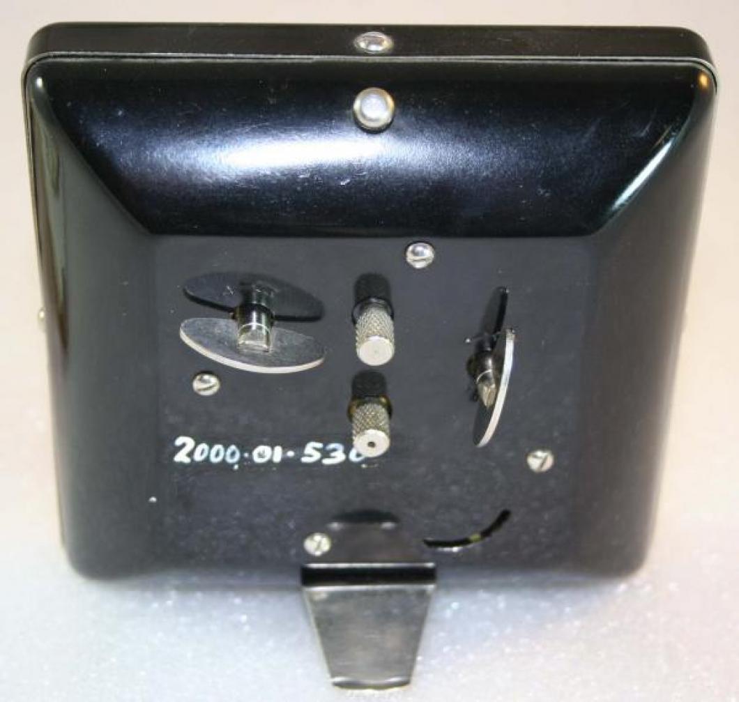 Westclox 1930s Spur Alarm Clock (Backside View)