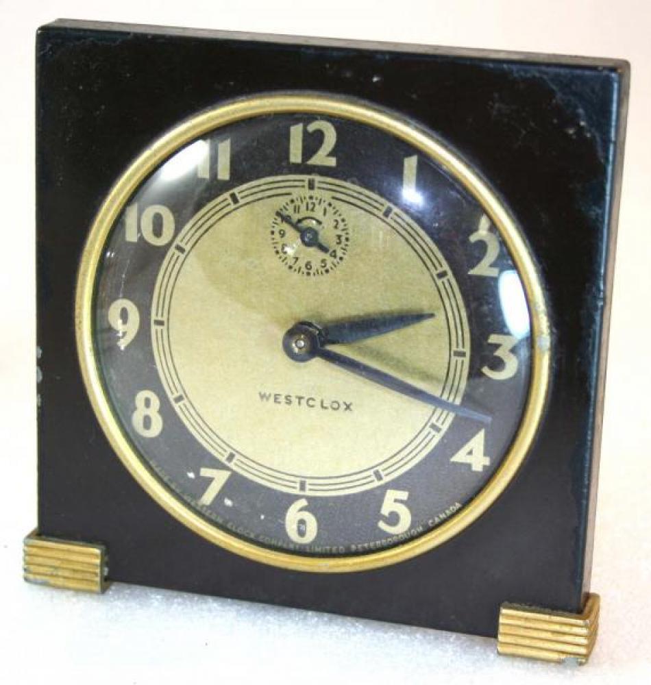 Westclox 1930s Tide Alarm Clock