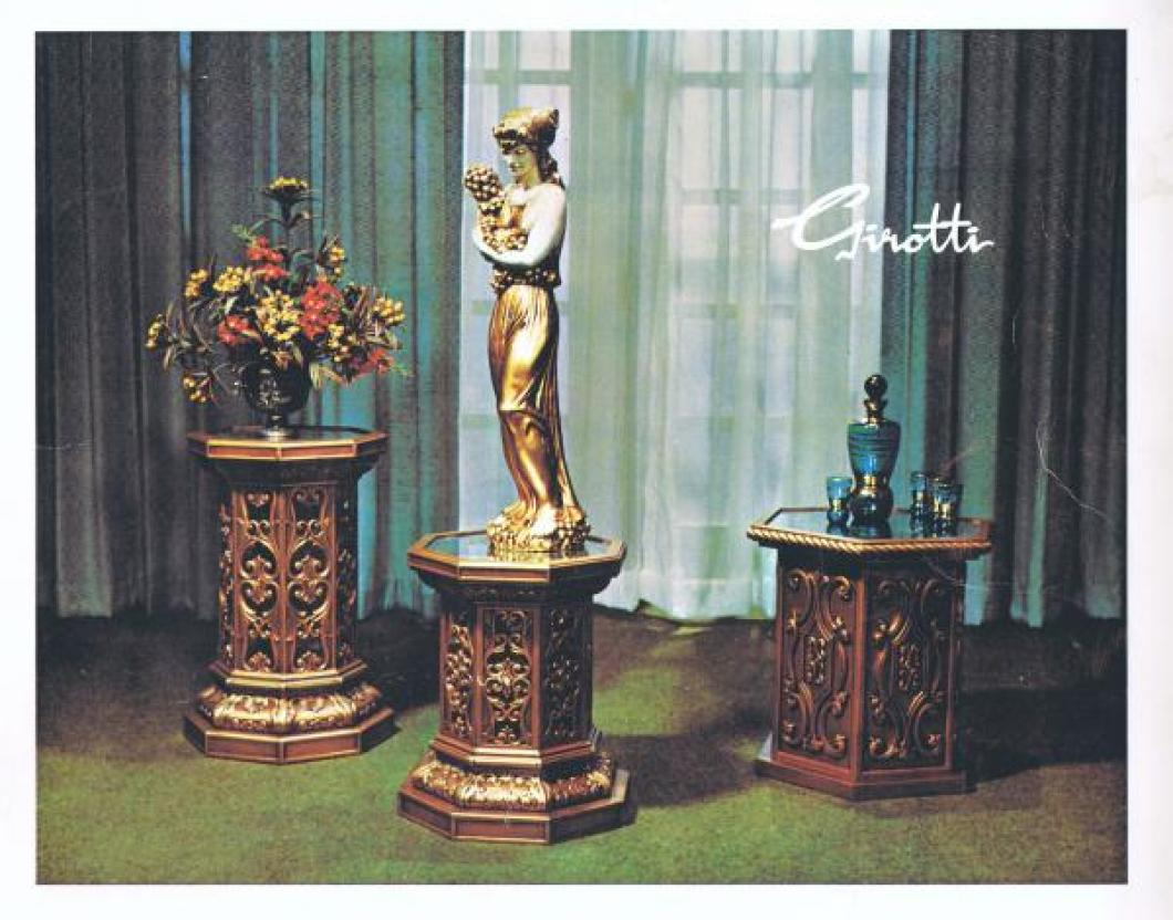 Front cover 1971 Girotti products catalogue