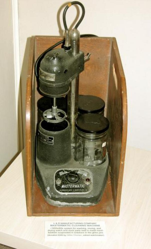 MASTERMATIC 1950s/60s watch/clock parts cleaning system