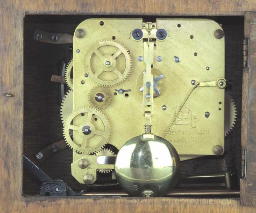 FLEET 3 tunes mantel clock MOVEMENT
