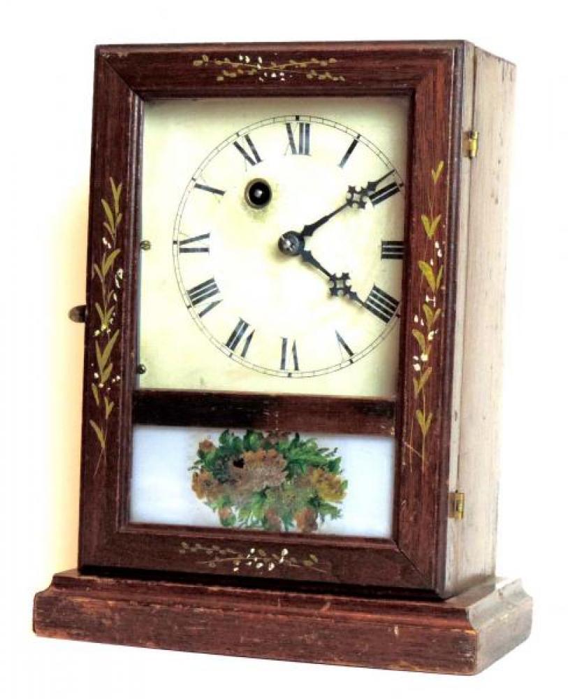 Canada Clock Company (Hamilton) GEM model mantel clock FRONT