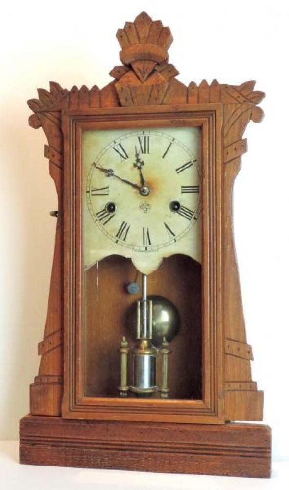 Canada Clock Company (Hamilton) HERO model mantel clock FRONT