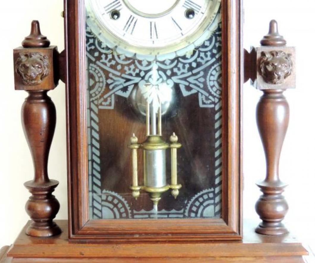 Canada Clock Company (Hamilton) PRINCE OF WALES model mantel clock TABLET