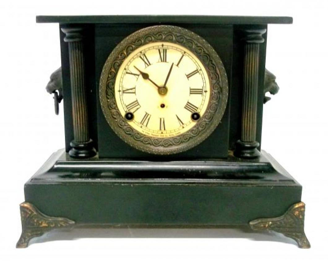 Front of the THIRD confirmed (2017) PREMIER model Pequegnat mantel clock