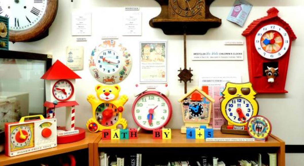Our children's clocks, including some Westclox WEE WINKIE models, picture 3