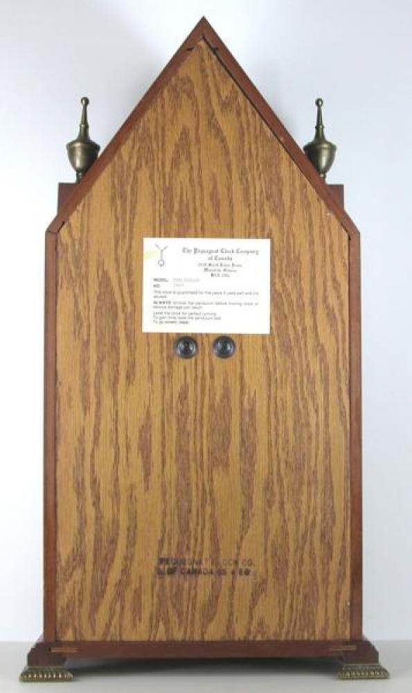 custom-designed Parliament mantel model BACK