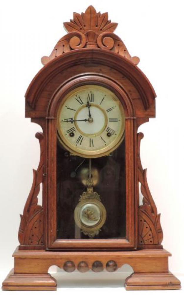 Canada Clock Company, Hamilton NIAGARA mantel clock (original glass tablet replaced) FRONT