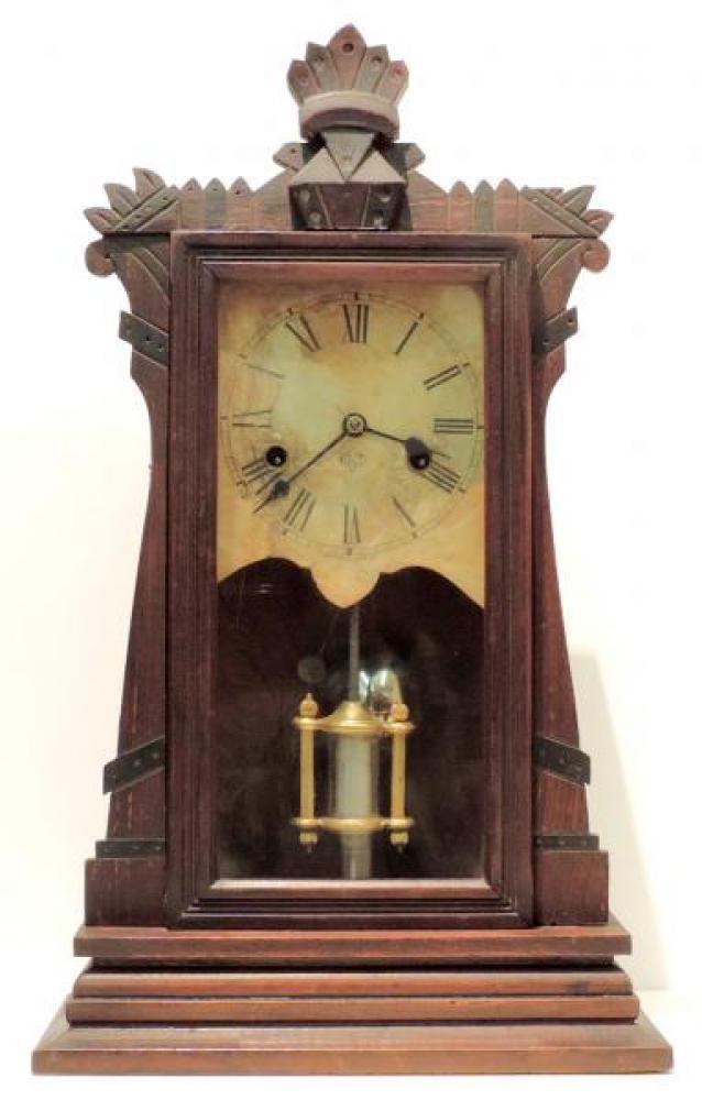 Canada Clock Company, Hamilton HERO EXTRA model mantel clock FRONT