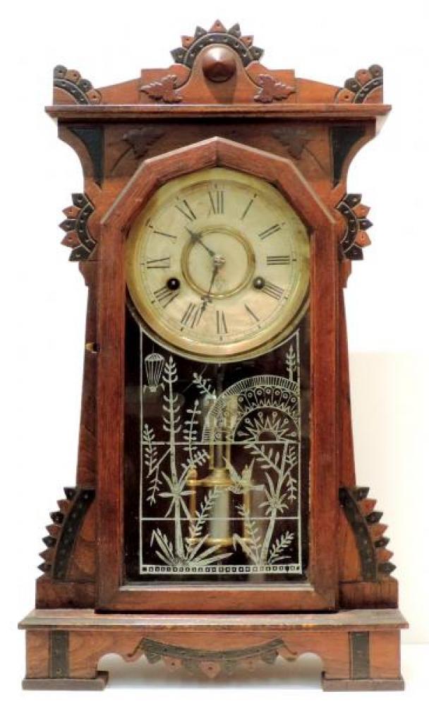 Canada Clock Company, Hamilton WINDSOR EXTRA model mantel clock FRONT