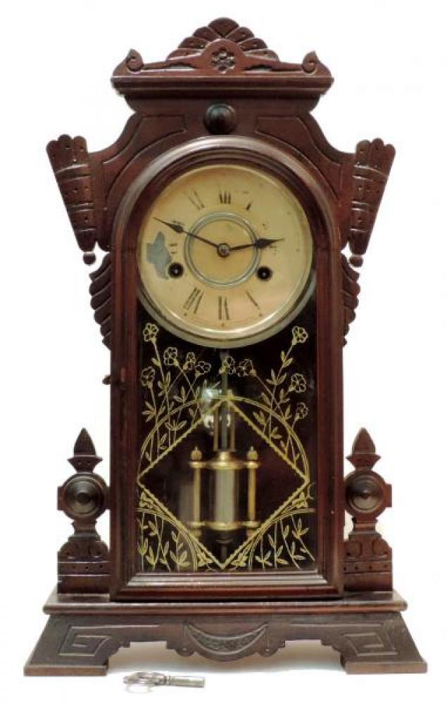 Canada Clock Company, Hamilton WINNIPEG model mantel clock FRONT