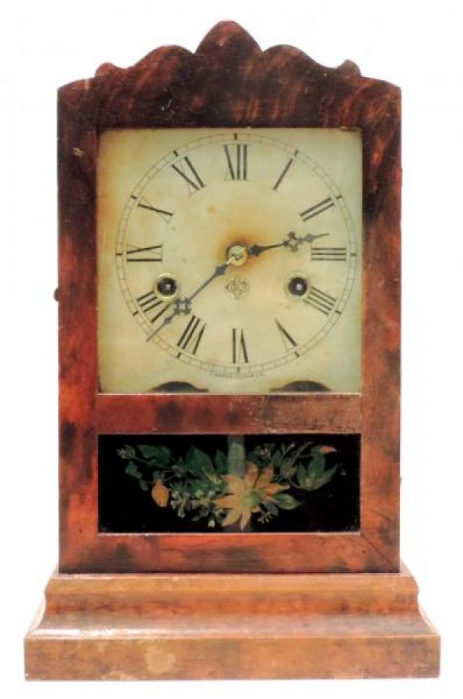 Canada Clock Company, Hamilton MONITOR model mantel clock FRONT