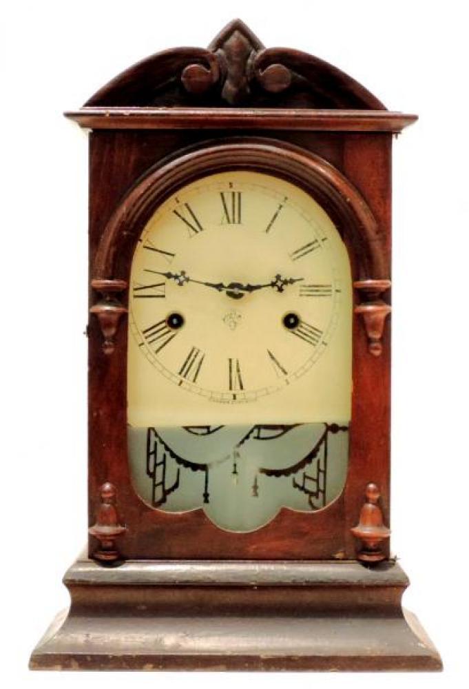 Canada Clock Company, Hamilton HAMILTON COTTAGE EXTRA model mantel clock FRONT