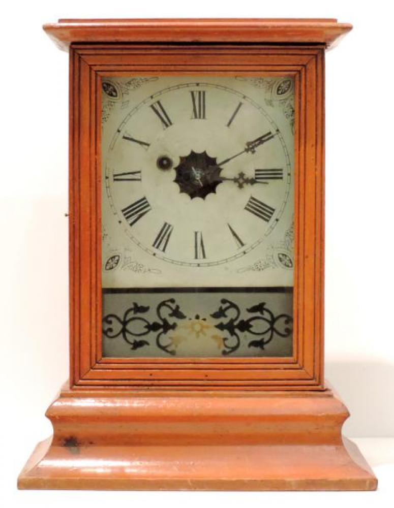 Canada Clock Company, Hamilton HAMILTON TIME model mantel clock FRONT
