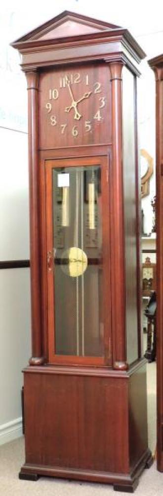 ALBERTA model hall clock, mahogany case (Berlin period)