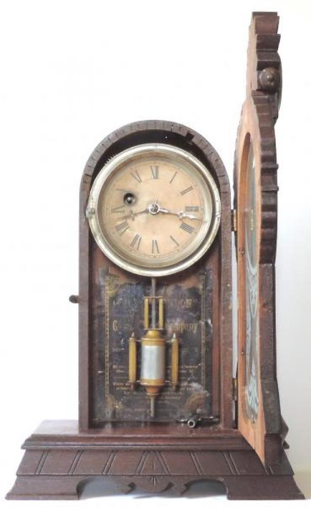 Canada Clock Company Hamilton CITY of LONDON model DOOR OPEN