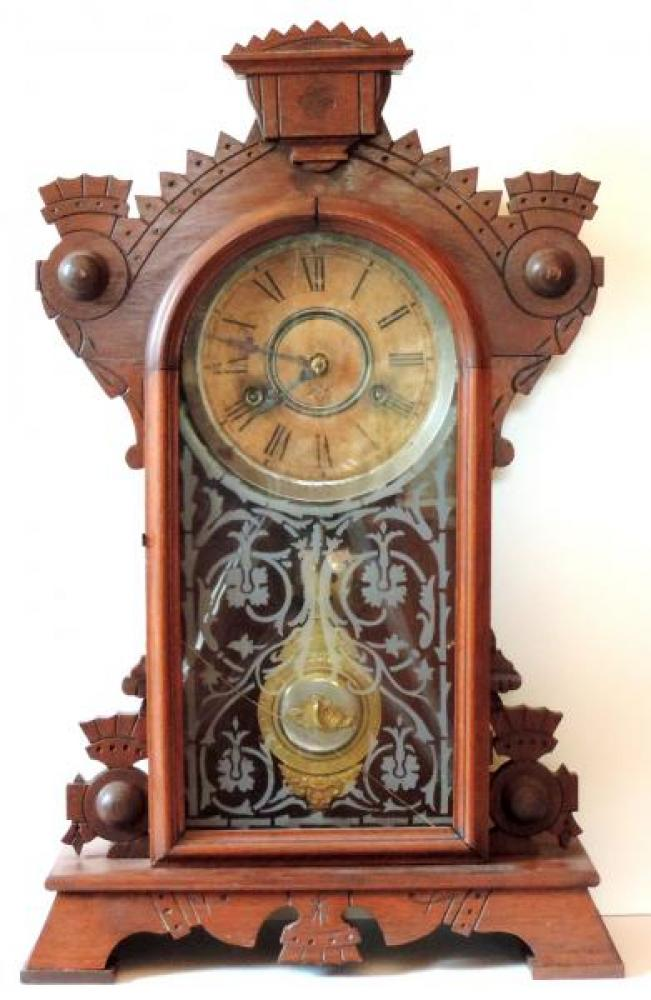 Canada Clock Company Hamilton FOREST BEAUTY model FRONT