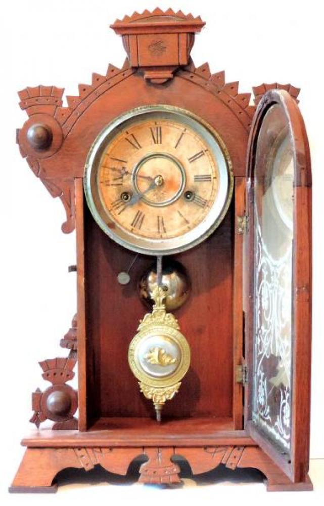 Canada Clock Company Hamilton FOREST BEAUTY model DOOR OPEN