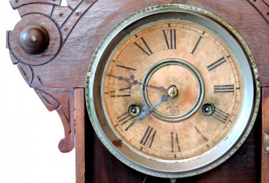 Canada Clock Company Hamilton FOREST BEAUTY model DIAL