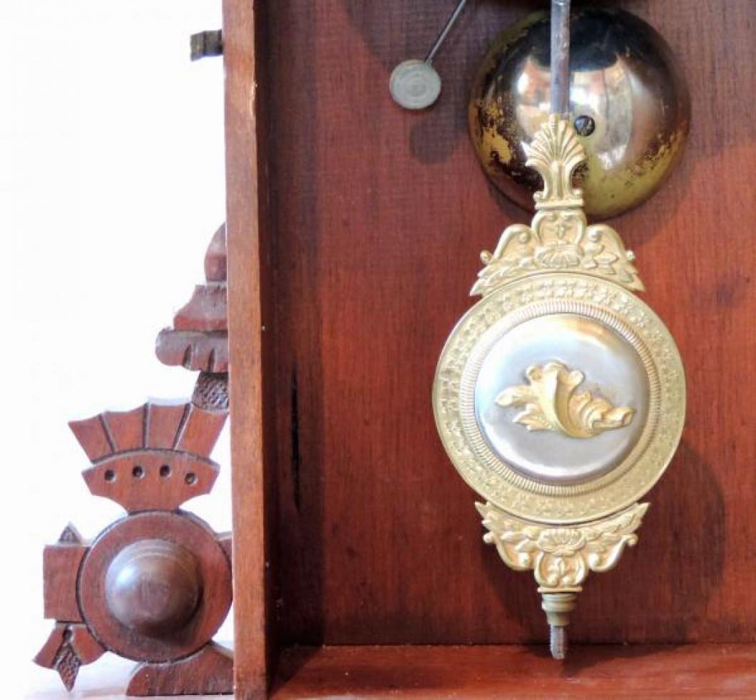 Canada Clock Company Hamilton FOREST BEAUTY model rare fancy BOB