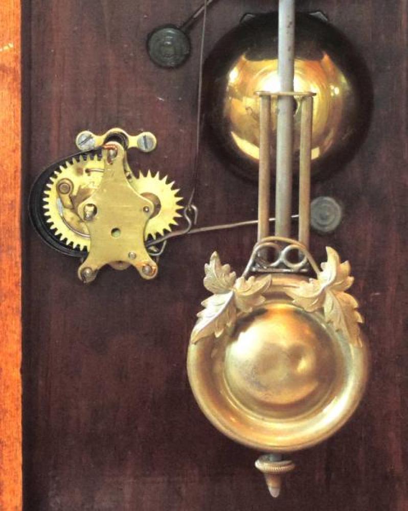 Canada Clock Company Hamilton St LAWRENCE model 2nd example BOB & ALARM mechanism